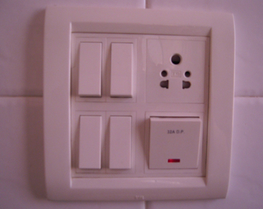 The Random Memorandum: Outlets and Switches and Lights…