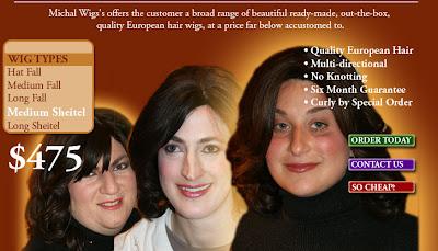 Jew Fondue The Hasidic Woman And Her Secret Hairs