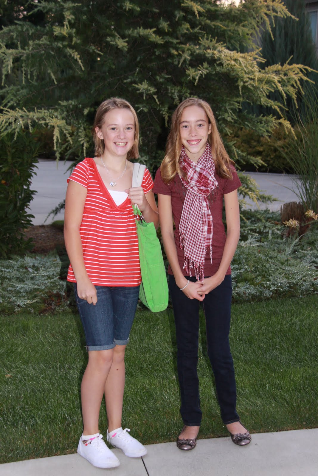 Dildine Family Of Eight First Day Of School