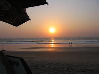 goa beach-calangute beach- famous places in india