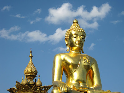 The World Of Statues The Giant Buddha From Golden Triangle Thailand