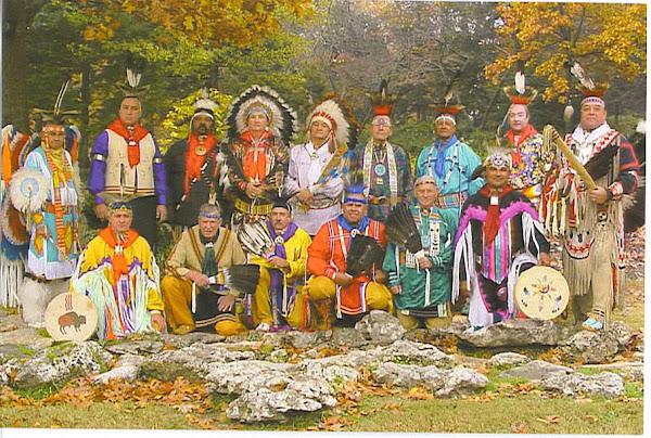 The Oklahoma Masonic Indian Degree Team