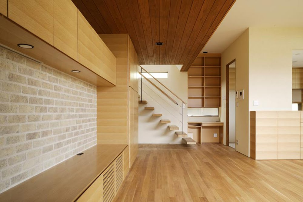 Only One Contemporary Wooden House In Hinomiya By Tsc