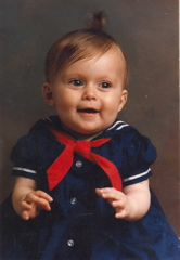 Laura as a Baby