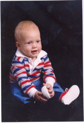 Nate as a Baby