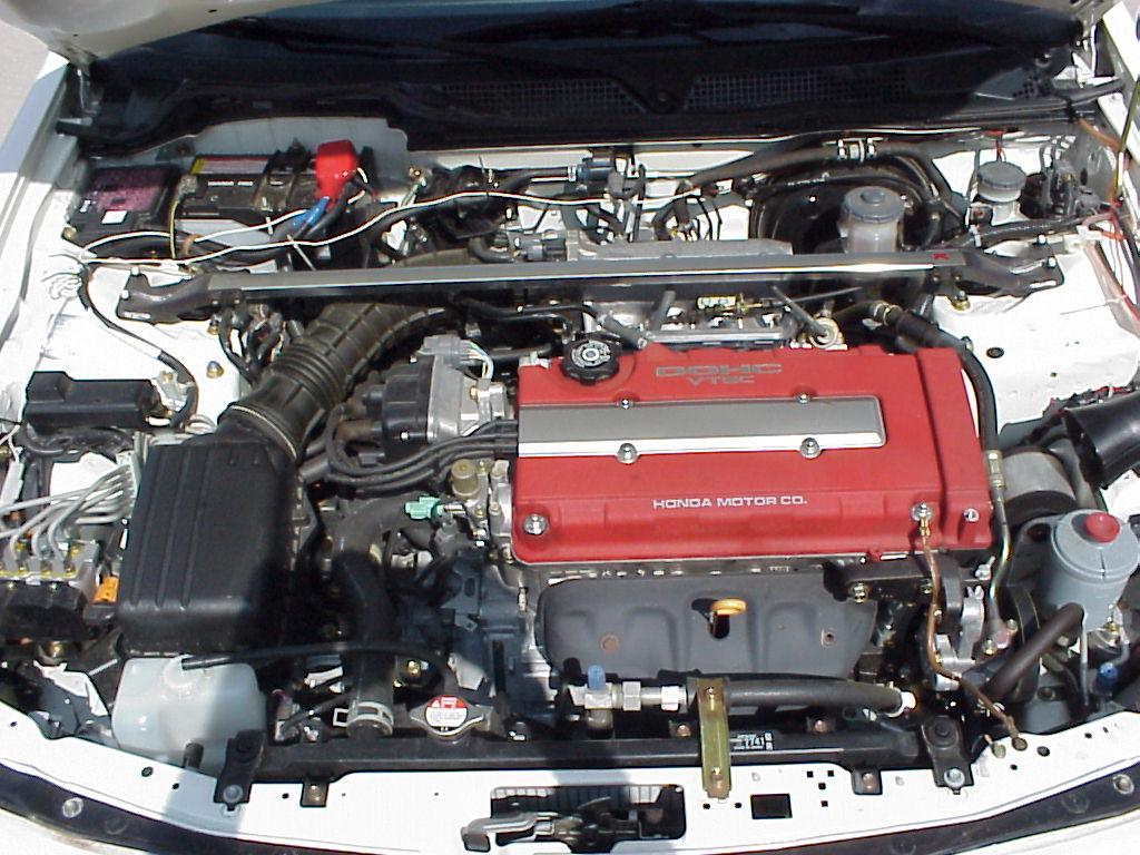 Honda B Type R Engine Swap Free Shipping