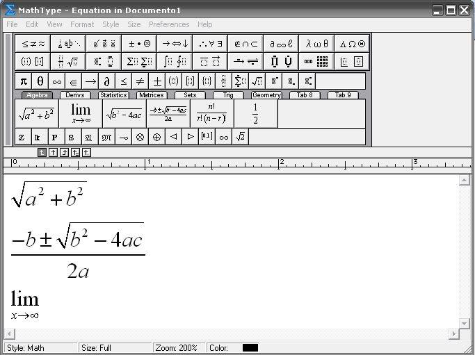 Mathtype 6.0