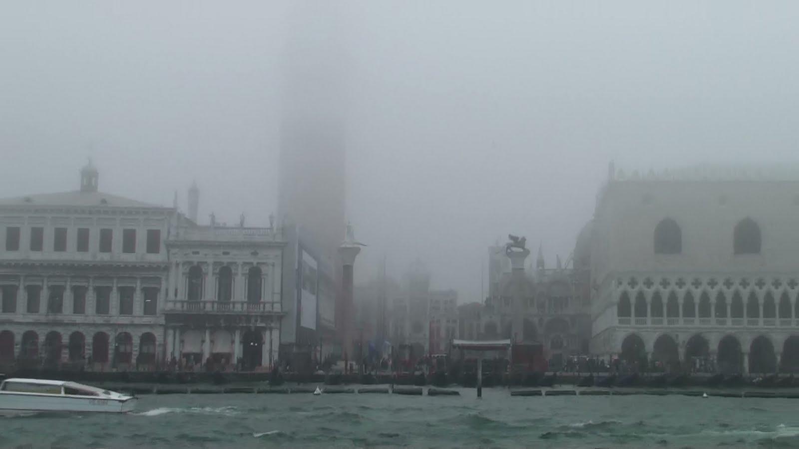Venezia due giorni di nebbia
