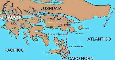 Capo Horn Cartina.Castiglio Il Blog 2009 Capo Horn Lo Faccio Lo Spero
