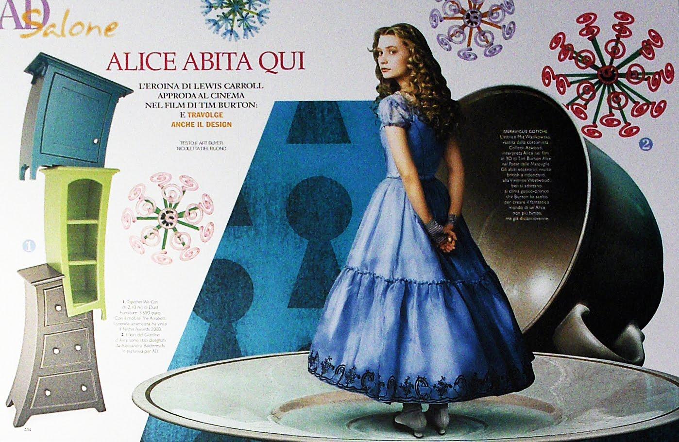 Noir: Alice In Wonderland Trend