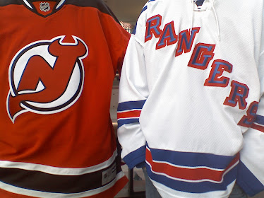 Battle of the Hudson ~ New Jersey Devils