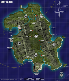 Lost island map by LostySmurf 3.1