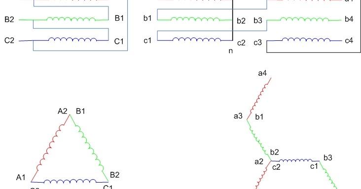 Delta zigzag star connection