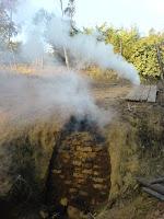 Hornilla de carbón de Redolino