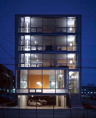 Modern Gl Wall House Apartment Building Design