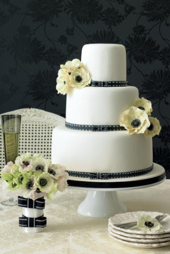 Wedding Cakes Pictures Anemone Wedding Cake Pictures