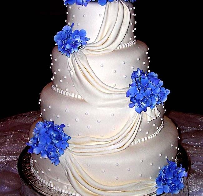 Blue Wedding Cake Ideas: Blue Wedding Cakes Designs