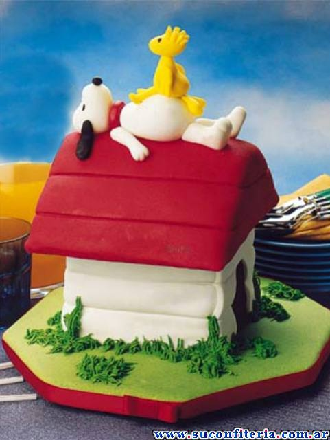 Birthday Cake Snoopy Cakes