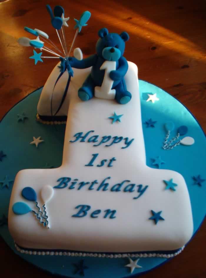 Birthday Cake 1st Birthday Cake