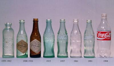 Coca-Cola, a evolução da garrafa 1
