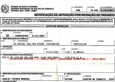 Homem é multado por dirigir a 4.800 km/h 1