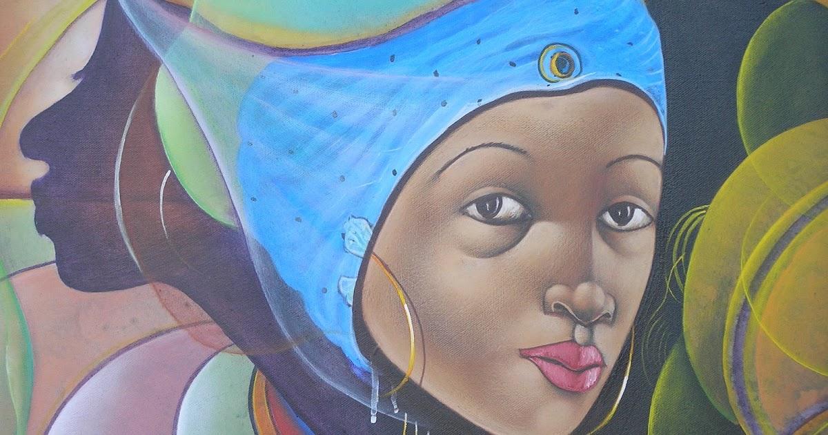 Couleur chaude tableau creole - Tableau couleur chaude ...