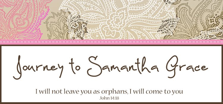 Journey to Samantha Grace