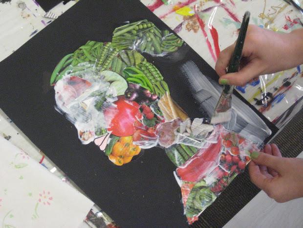 Art Giuseppe Arcimboldo-fruit Face Vegetable Head Project