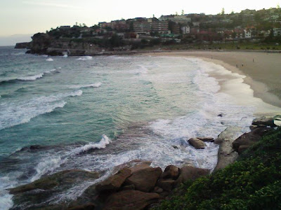 Walking to Bondi