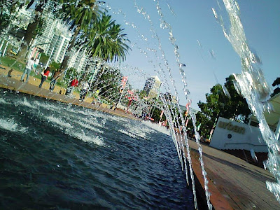 Fountains at Darling Harbour
