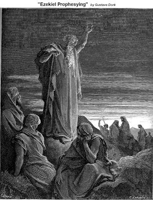 Ezekiel Prophesying - Gustave Dore