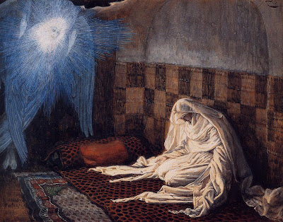 """""""The Annunciation"""" by James Tissot - 1886 - 1896"""