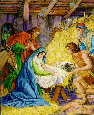 """""""Adoration of the Shepherds"""" by Unknown Artist"""