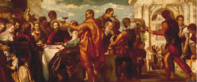 """""""The Marriage at Cana"""" by Paolo Veronese - 1560"""