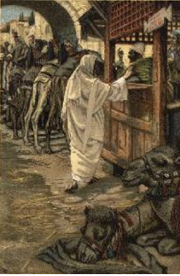 """The Calling of Levi"" - James Tissot, 1886 - 1896"