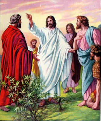 """Jesus Sending the Apostles"" - Artist unknown"