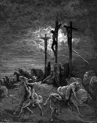 """The Darkness at the Crucifixion"" by Gustave Dore, 1865"