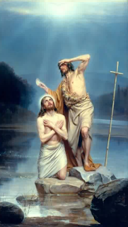 """Baptism of Christ"" - Carl Heinrich Bloch"