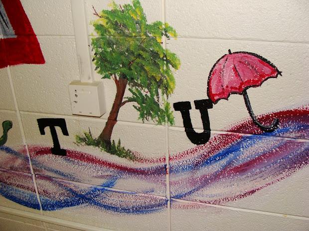 Preschool Room Mural