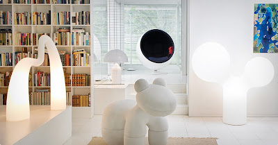 Space Age Interior Design House Modern Design By