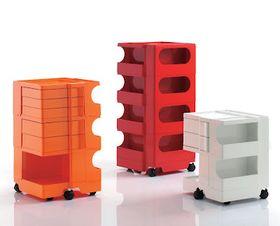 Office Organizer Boby Storage Trolley On Casters Designed By Joe Colombo And Made In Italy Italian Modern Furniture Design Clic