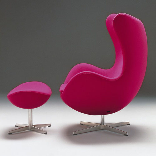 egg chair by arne jacobsen modern design by. Black Bedroom Furniture Sets. Home Design Ideas