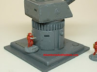 terrain heavy gun turret 15 mm science fiction miniatures