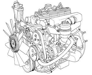 Ranger 4x2 and 4x4: manual de peças motor 2.5 tdi maxion hsd