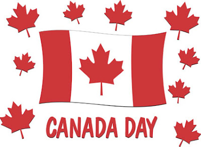 Canada Day – July 1.