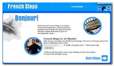 French Steps, Un cours en ligne pour débutants كورس لتعليم اللغة الفرنسية للمبتدئين من بى بى سى