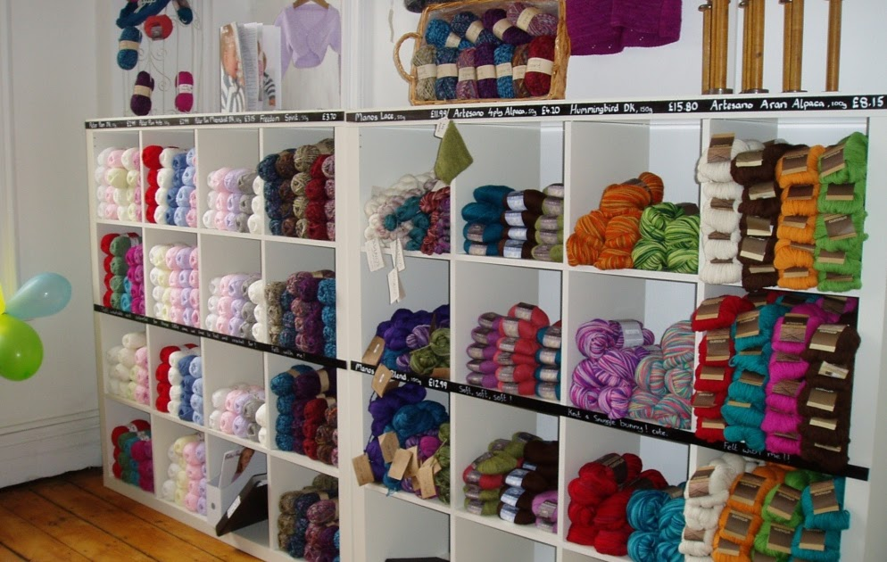Knitting Now and Then: New Yarn Shop in Town