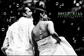 winning wedding photography image by Austin wedding photographer David Hill image of bride and groom departing wedding ceremony