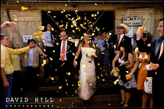 photo by austin wedding photographer David Hill of wedding in Luckenbach Texas