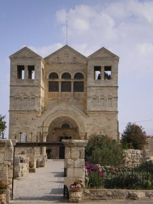 La transfiguración en el monte Tabor 3